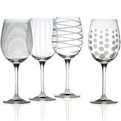 Mikasa® Cheers Set of 4 White Wine Glasses