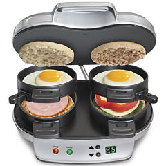Hamilton Beach® Dual Breakfast Sandwich Maker