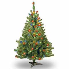National Tree Co. 4 Foot Kincaid Spruce Pre-Lit Christmas Tree