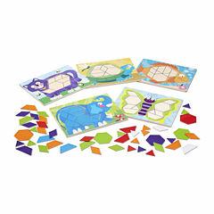 Melissa & Doug® Animal Pattern Blocks