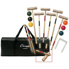 Champion Sports Tournament Series Croquet Set