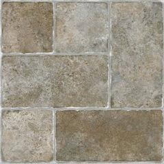 Sterling Cottage Stone 12x12 Self Adhesive Vinyl Floor Tile - 20 Tiles/20 Sq Ft.