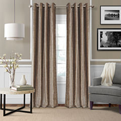 Victoria Velvet Grommet-Top Curtain Panel