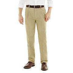 St. John's Bay® Worry Free Pleated Pants