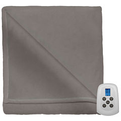 Serta Microfleece Heated Electric Blanket