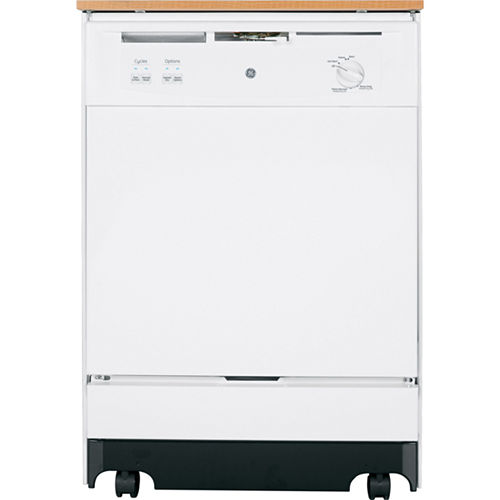 GE® ENERGY STAR® Convertible Portable Dishwasher