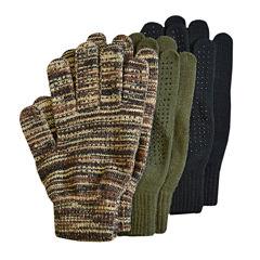 QuietWear® 3-pk. Grip Dot Gloves