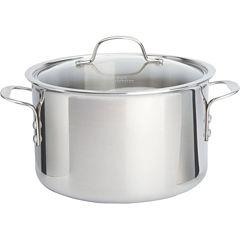 Calphalon® Tri-Ply 8-qt. Stainless Steel Stock Pot