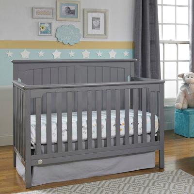 fisher price colton convertible crib grey - Convertible Baby Cribs