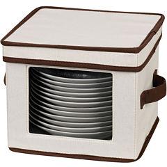 Household Essentials® Dessert Plate/Bowl Storage Chest