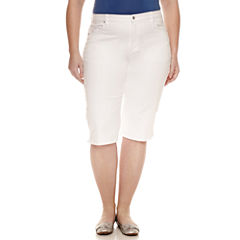 Gloria Vanderbilt Classic Fit Jeans-Plus