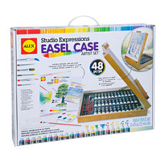 ALEX Art Studio Expressions Easel Case Artist Set