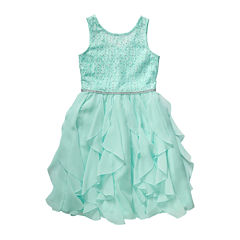 Emily West® Lace Cascade Ballerina Dress - Girls 7-16