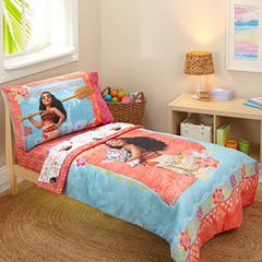 Disney 4-pc. Moana Toddler Bedding Set
