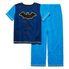 Boys 2-pc.Short Sleeve DC Comics Kids Pajama Set-Big Kid short sleeve