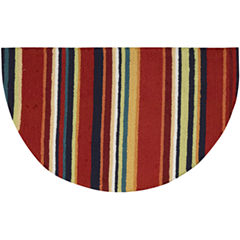 Nourison® Stripes Washable Wedge Rug