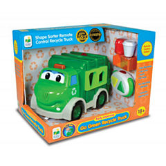 The Learning Journey Remote Control Shape Sorter - Recycle Truck