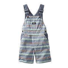 OshKosh B'gosh® Striped Shortalls - Baby Boys 3m-24m