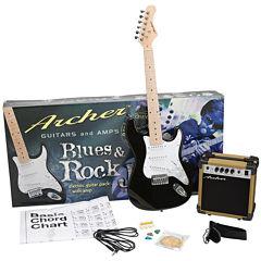 Archer SS10 Blues & Rock Jr. Electric Guitar Package