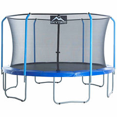 SKYTRIC 13 ft Trampoline with Top Ring Enclosure System