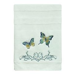 Bacova Guild Watercolor Garden Bath Towel Collection