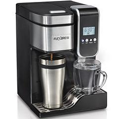 Hamilton Beach® FlexBrew® Programmable Coffee Maker and Hot Water Dispenser