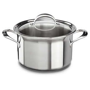 KitchenAid 5-ply Copper Core 8-Quart Stockpot with Lid