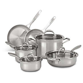 KitchenAid 5-ply Copper Core 10-Piece Set
