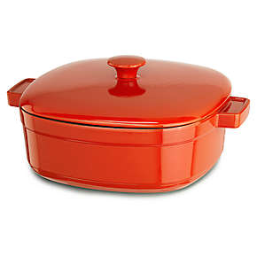 KitchenAid Streamline Cast Iron 6-Quart Casserole