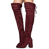 03a21d32649 Women s Belmont-020K Thigh High Boots