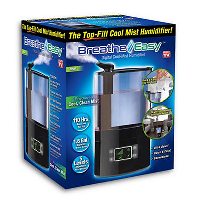 Breathe Easy 1.6-Gal. Digital Cool-Mist Humidifier