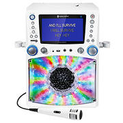 Singing Machine Bluetooth Karaoke System with Lights