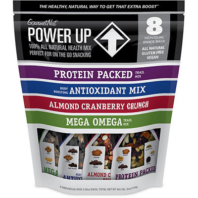 Gourmet Nut Power Up, 8 ct./2.25 oz.