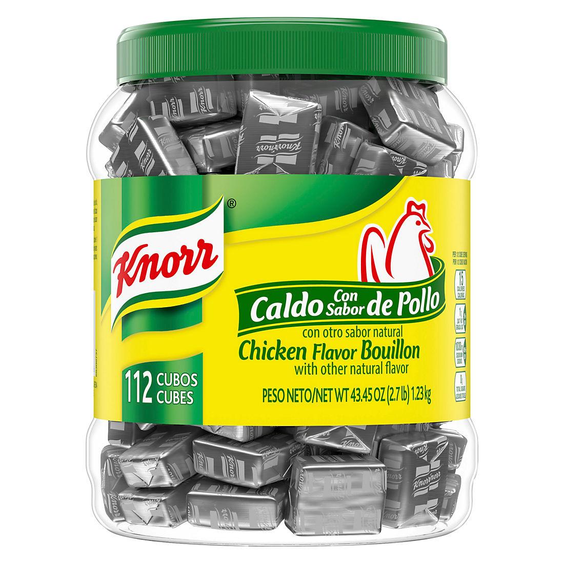 Knorr Chicken Flavor Bouillon Cubes