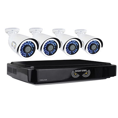 Night Owl 8-Channel 4-Camera 1080p Smart Security System with 1TB HDD