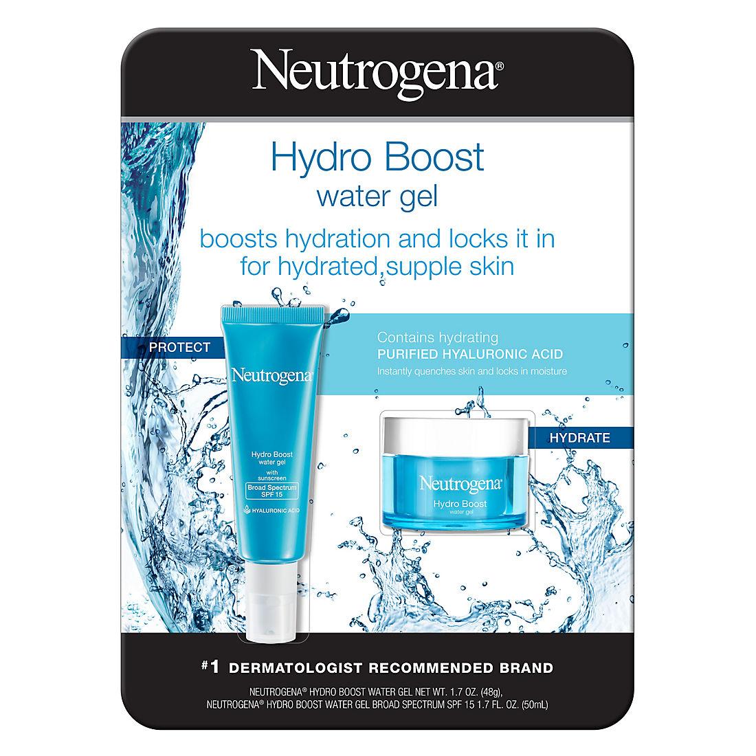 picture regarding Dr Oz 7 Minute Workout Printable known as Neutrogena Hydro Enhance H2o Gel SPF 15, 2 pk./1.7 oz.