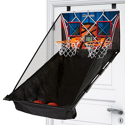 MD Sports 2-Player Over-the-Door Basketball Game