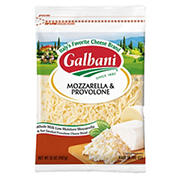 Galbani Shredded Mozzarella & Provolone, 32 oz.
