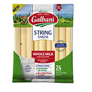 Galbani Whole Milk Mozzarella String Cheese, 24 ct./1 oz.