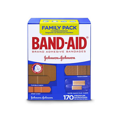 BAND-AID Adhesive Bandages Family Pack, 170 ct.
