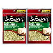 Sargento Mozzarella, 2 pk./12 oz.