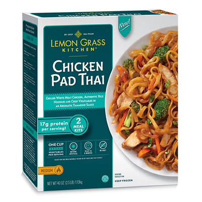 Lemon Grass Kitchen Chicken Pad Thai, 2 ct./20 oz.