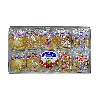 Svenhard's Swedish Bakery Variety Pack, 30 ct./2 oz.