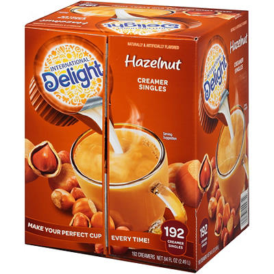 International Delight French Vanilla Non-Dairy Creamer Singles, 192 ct