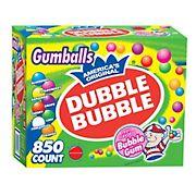 Dubble Bubble Bubble Gum Gumballs, 850 ct.
