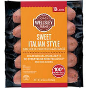 Wellsley Farms Sweet Italian Style Chicken Sausage, 32 oz.
