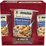 Jimmy Dean Meat Lovers Simple Scrambles, 4 pk./5.35 oz.
