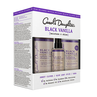 Carol's Daughter Black Vanilla Shampoo and Conditioner, 3 pk./26 fl. o