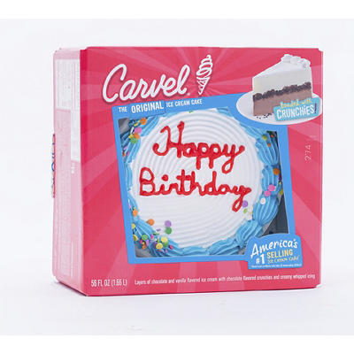 Carvel Ice Cream Birthday Cake, 56 fl. oz.