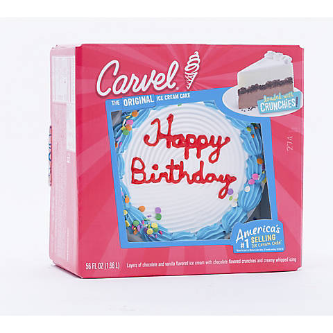 Pleasant Carvel Ice Cream Birthday Cake 56 Fl Oz Bjs Wholesale Club Funny Birthday Cards Online Overcheapnameinfo